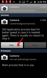 How to fix camera failed, step 5